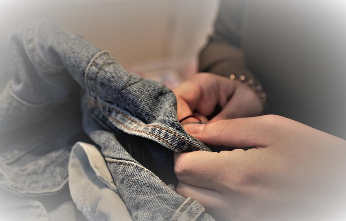 šití kalhotů