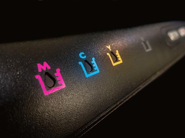 barvy tiskárny