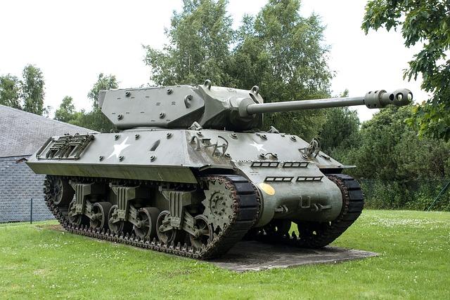 vojenský tank