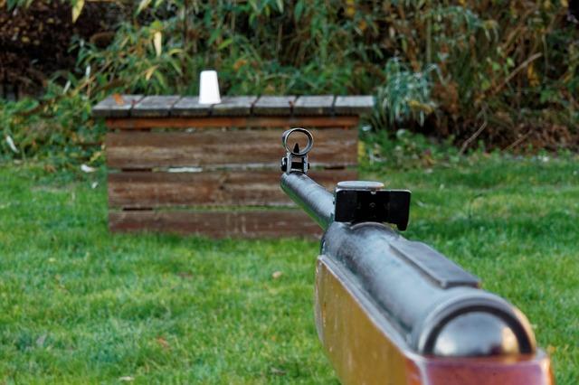 střelba na kelímek