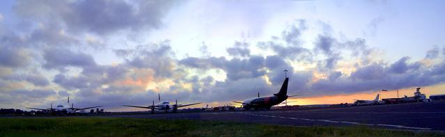 letadla na ploše